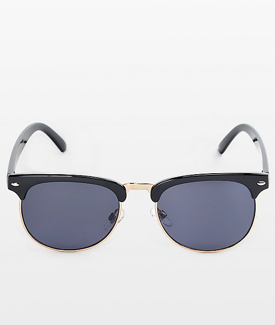 Happy Hour G2 Black & Gold Sunglasses