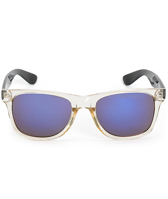 Happy Hour Hakuna Matata Black & White Sunglasses