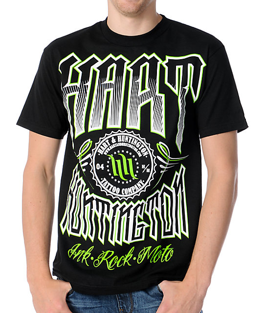 Hart & Huntington District Black T-Shirt