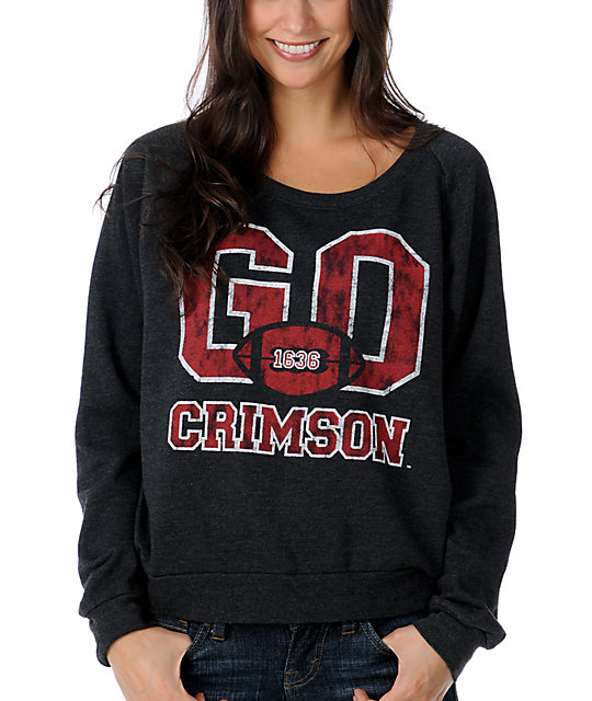 Harvard Crimson College Football Sweatshirt