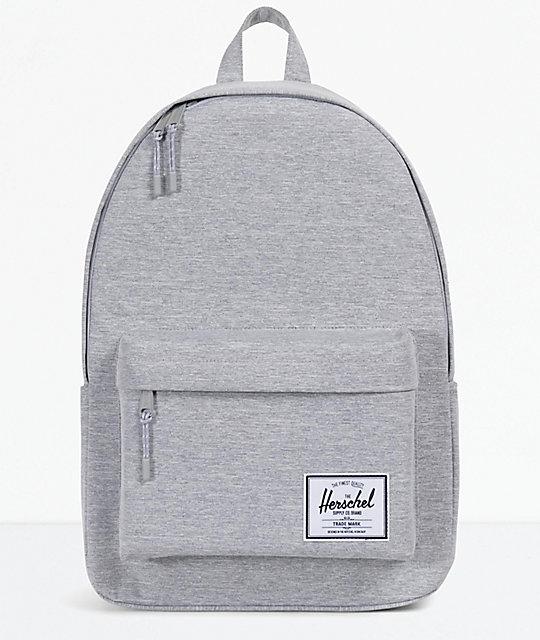 72ed4870555 Herschel Classic XL Light Grey Backpack