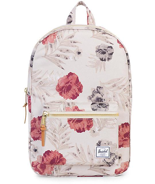 c324d0ab943 Herschel Settlement Pelican Floral Khaki 17L Backpack