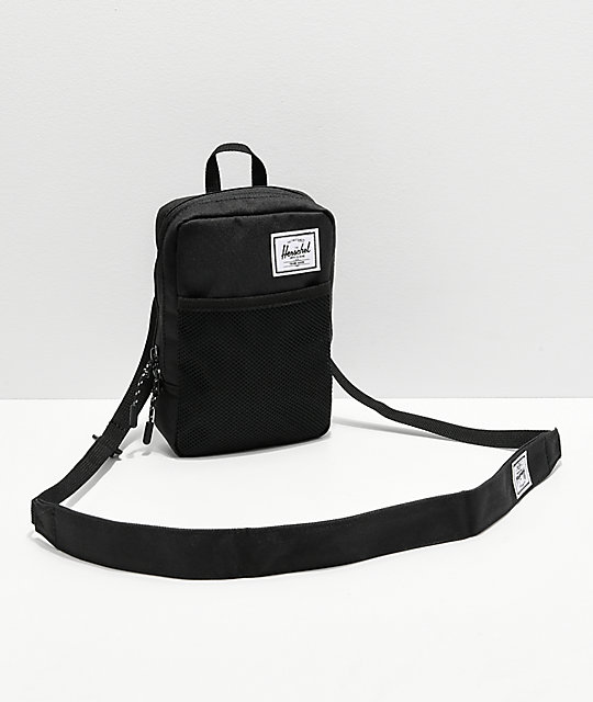 72f79e6dcaa Herschel Sinclair Large 1.5L Black Shoulder Bag