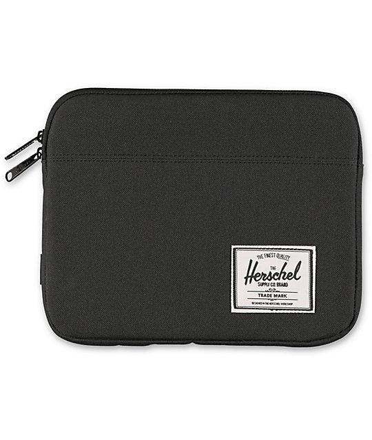 Herschel Supply Co. Anchor Black IPad Sleeve
