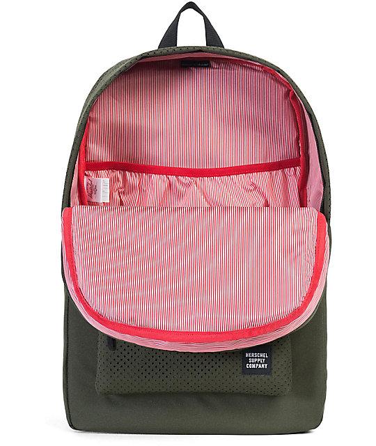 49855ec28798 ... Herschel Supply Co. Aspect Heritage Forest Night   Black 21.5L Backpack