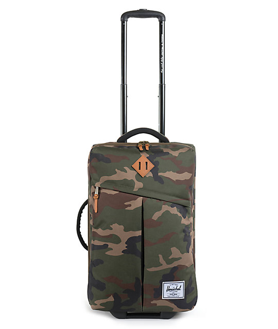 Herschel Supply Co. Campaign Woodland Camo Roller Bag