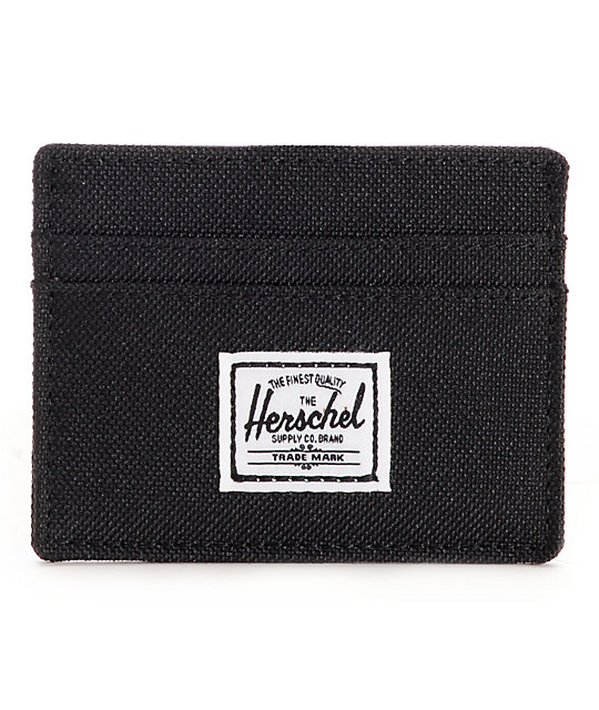 Herschel Supply Co. Charlie Black Card Wallet