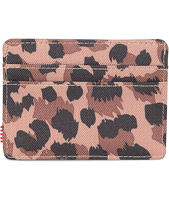 Herschel Supply Co. Charlie Leopard Cardholder