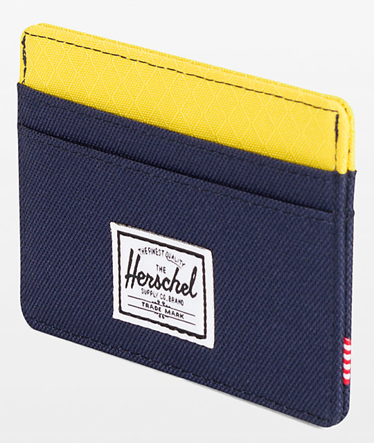 Herschel Supply Co. Charlie Peacoat Cyber Yellow cartera