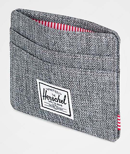 Herschel Supply Co. Charlie Raven Crosshatch Cardholder Wallet
