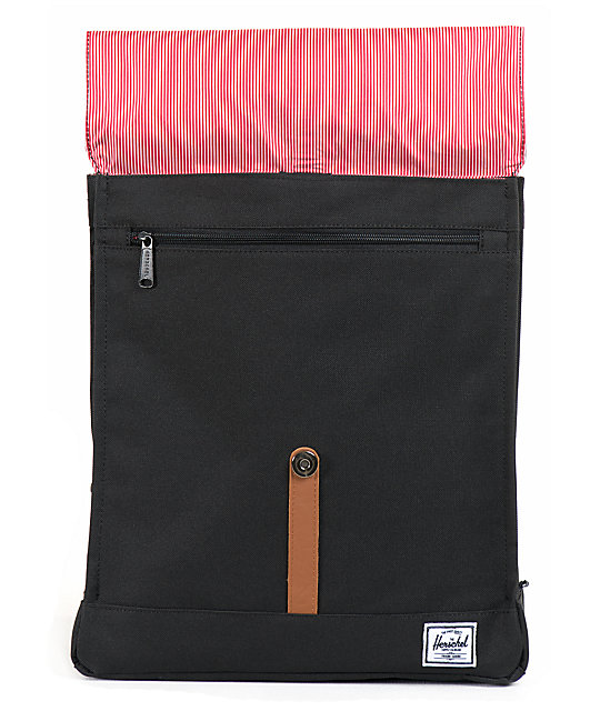 d0a66aba3d8 Herschel Supply Co. City Black 7L Mid-Volume Backpack