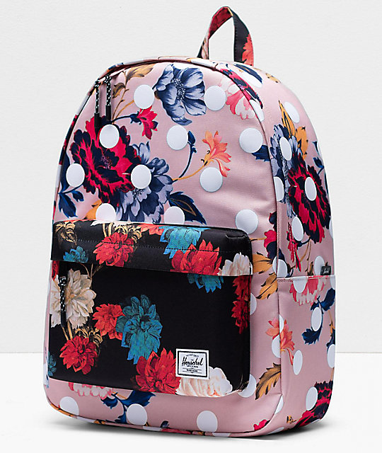 Herschel Supply Co. Classic Kaleidoscope Winter mochila floral