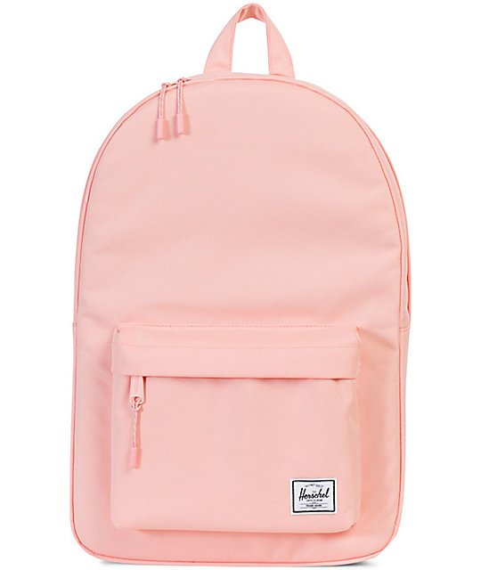 d2c9c327ea2 Herschel Supply Co. Classic Mid-Volume Apricot Blush 18L Backpack |  Zumiez.ca