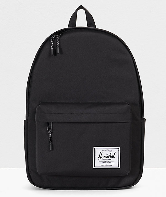 bbe71a355fe Herschel Supply Co. Classic XL Black Backpack