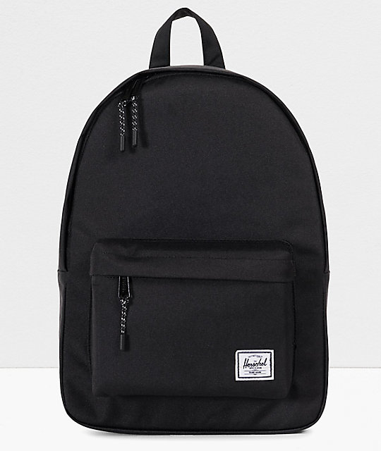 Herschel Supply Co. Classic mochila negra de volumen medio