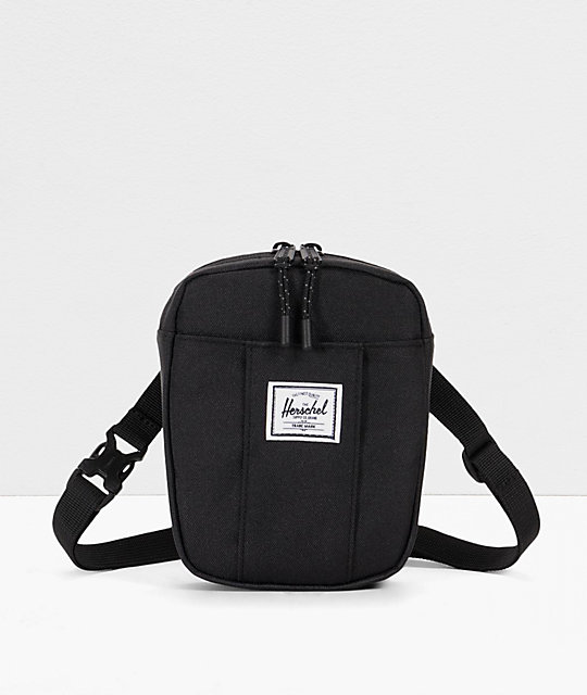 Herschel Supply Co Cruz Black Crossbody Bag