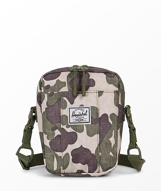 181b56e31fc158 Herschel Supply Co. Cruz Frog Camo Crossbody Bag
