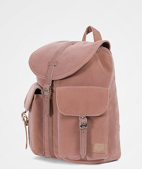 Dawson Ash Rose Velvet 13L Mini Backpack  Herschel Supply Co. Dawson Ash  Rose Velvet 13L Mini Backpack ... 3d0252a4b305a