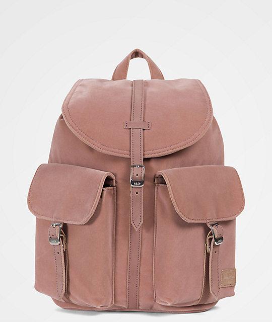 Herschel Supply Co. Dawson Ash Rose Velvet 13L Mini Backpack  03a0da8aaa156