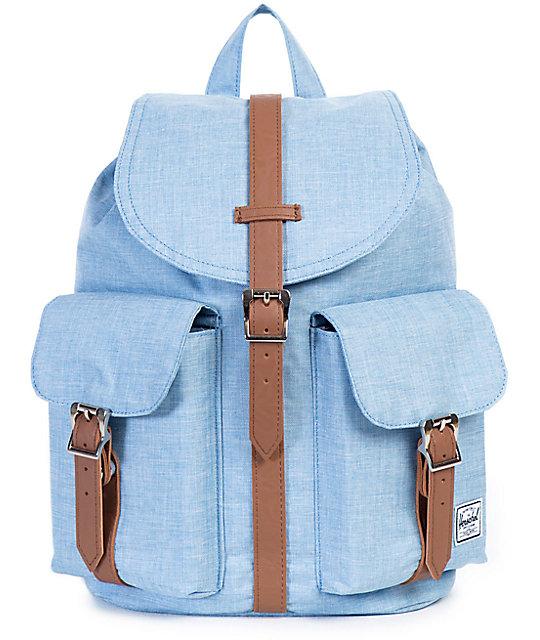 34da8df35c1 Herschel Supply Co. Dawson Chambray Crosshatch 13L Backpack