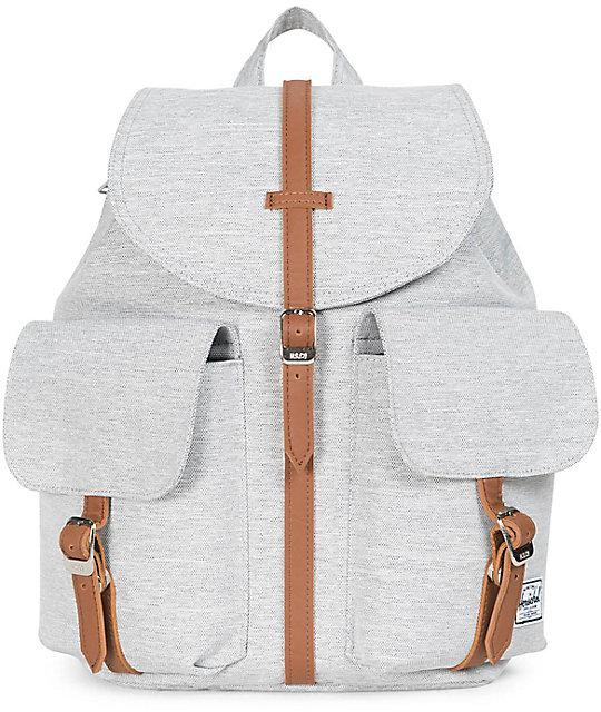 da7de56c46b Herschel Supply Co. Dawson Light Grey Crosshatch 13L Backpack