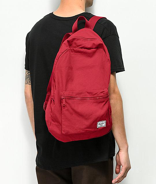 Daypack Brick Red Backpack  Herschel Supply Co. Daypack Brick Red Backpack  ... f0860854fe8aa