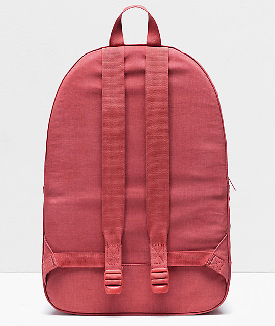 Herschel Supply Co. Daypack Cotton Casuals mochila roja mineral
