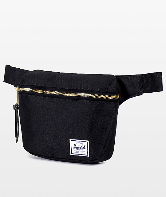 2b27e260345 Herschel Supply Co. Fifteen Black 1.25L Fanny Pack