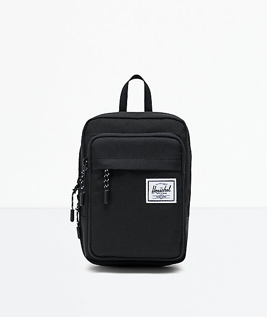 427a4314ee96 Herschel Supply Co. Form Large Black Crossbody Bag | Zumiez.ca