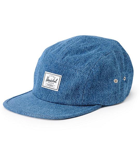 5df6b151119 Herschel Supply Co. Glendale Classic Denim 5 Panel Hat