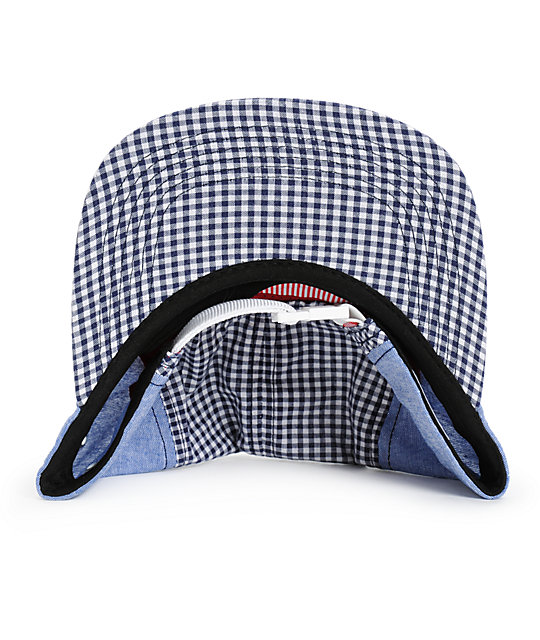 80f6463a21b Glendale Gingham 5 Panel Hat  Herschel Supply Co. Glendale Gingham 5 Panel  Hat