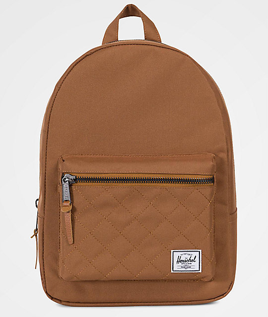 964ffb79ed0 Herschel Supply Co. Grove Quilted Caramel Extra Small 13.5L Backpack ...