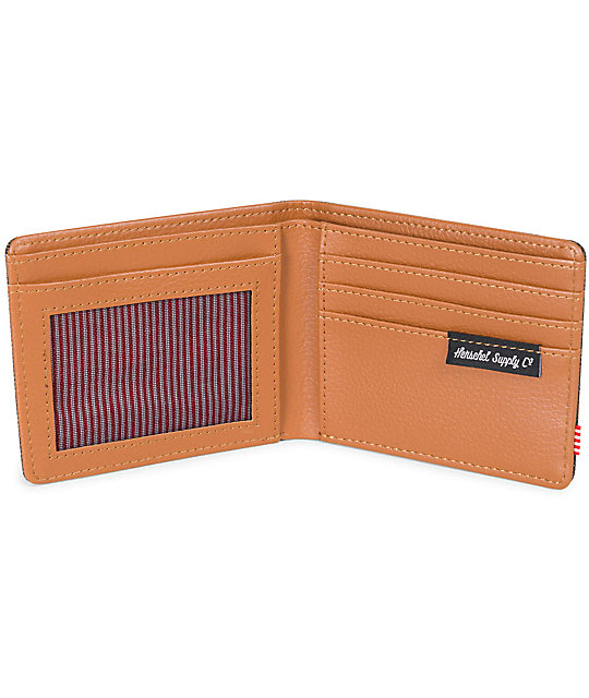 Herschel Supply Co. Hank Canteen Crosshatch Bifold Wallet