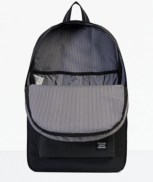 Herschel Supply Co. Heritage Aspect Black Rubber 21.5L Backpack