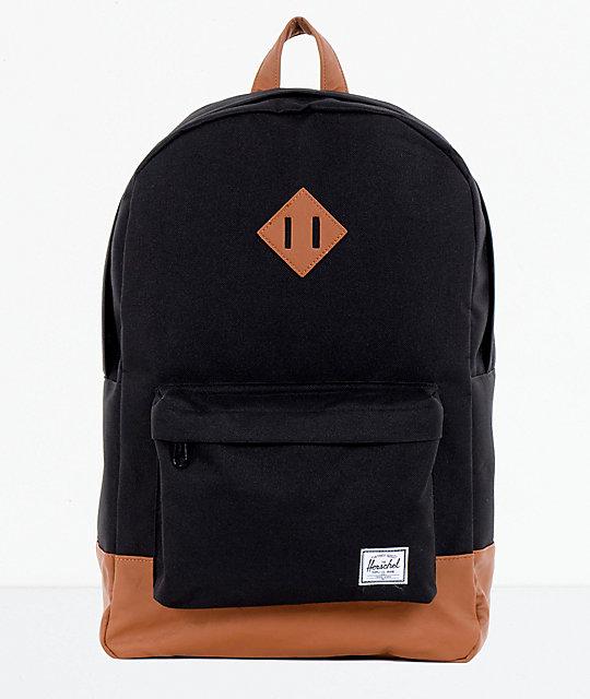7a11b03b279 Herschel Supply Co. Heritage Black & Tan Backpack