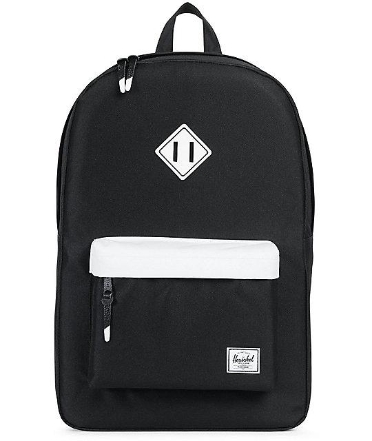 Heritage Backpack 21.5L - Black Herschel Outlet Marketable Buy Cheap Best Seller Cheap Sale View 6638hfMBX
