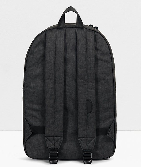 Herschel Supply Co. Heritage Black Crosshatch Backpack