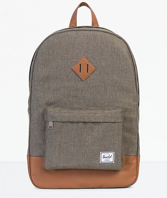 Herschel Supply Co. Heritage Canteen Crosshatch   Tan Backpack   Zumiez.ca 8ac087fab5