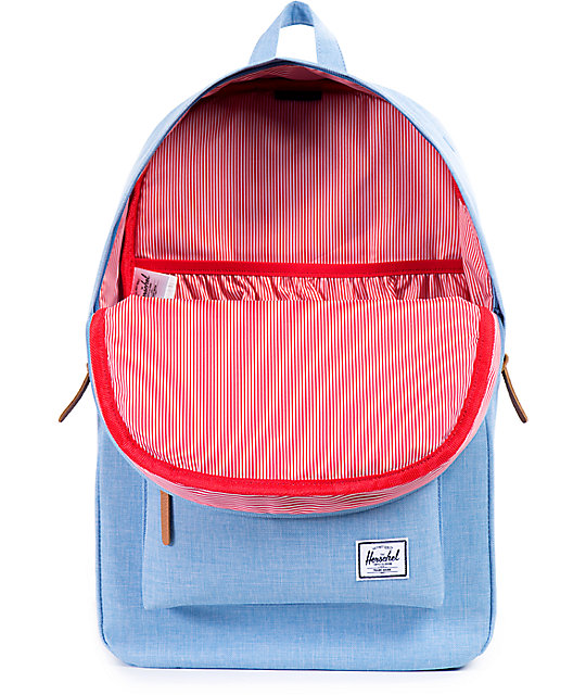 Heritage Chambray Crosshatch 21L Backpack  Herschel Supply Co. Heritage  Chambray Crosshatch 21L Backpack ... 143a71b87927f
