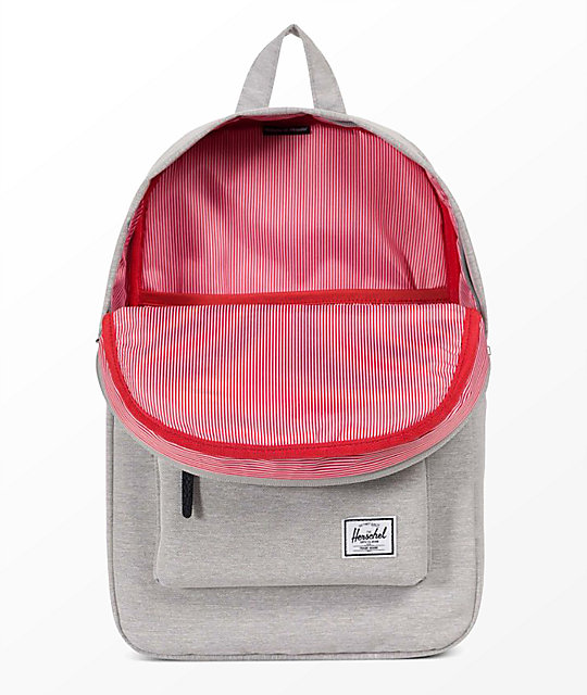 Herschel Supply Co. Heritage Light Grey Crosshatch 21.5L Backpack