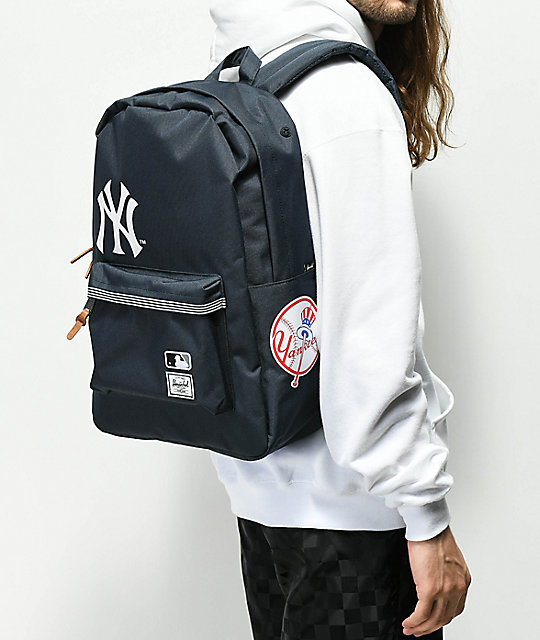 922166a399 Heritage MLB NY Yankees Backpack  Herschel Supply Co. Heritage MLB NY  Yankees Backpack ...