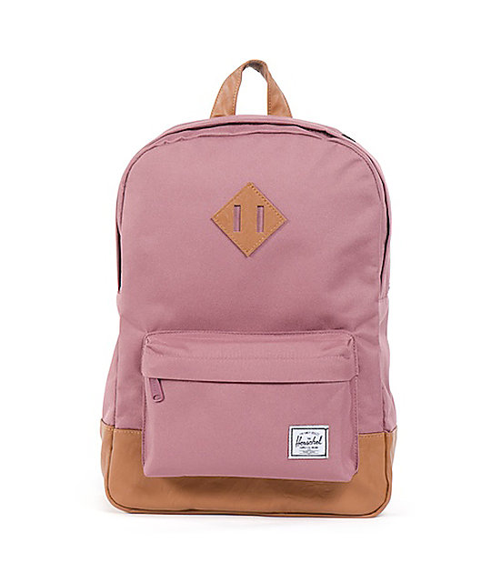 Herschel Supply Co. Heritage Mid-Volume Purple Backpack  57c3ad9313dc2