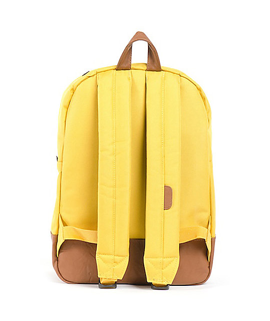 Herschel Supply Co. Heritage Mid-Volume Yellow Backpack