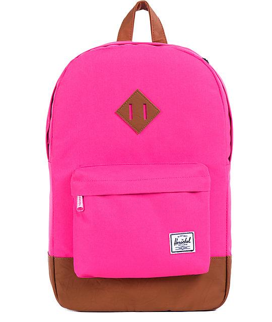 Herschel Supply Co Heritage Neon Pink 21l Backpack