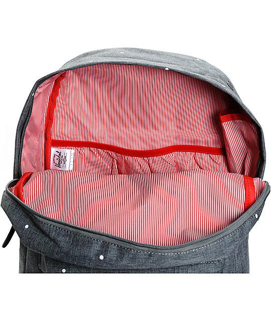 Heritage Polka Dot Crosshatch 20L Backpack  Herschel Supply Co. Heritage  Polka Dot Crosshatch 20L Backpack 184436a0c6