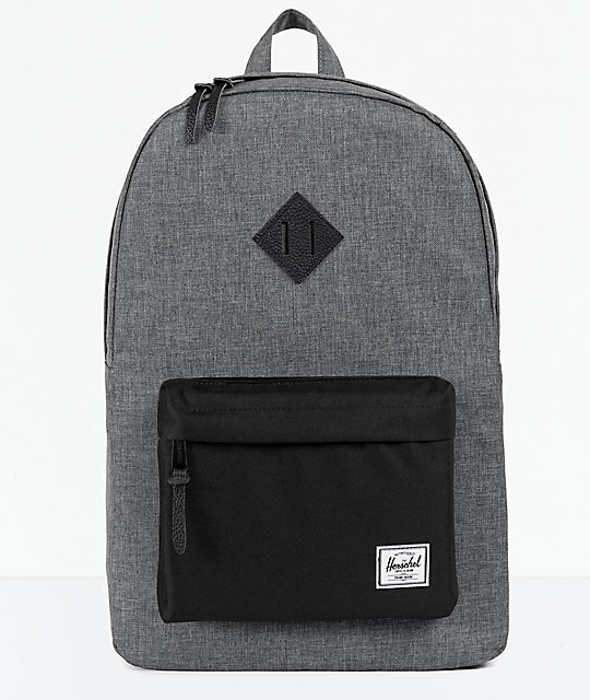 Herschel Supply Co. Heritage Raven Cross Hatch Backpack