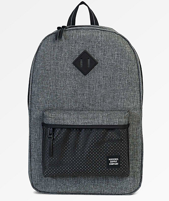 e436029e0aa Herschel Supply Co. Heritage Raven Crosshatch Aspect 21.5L Backpack ...