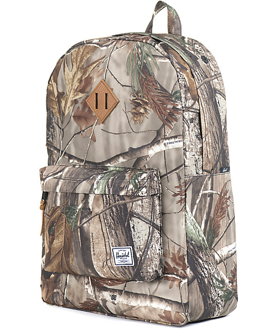 Herschel Supply Co. Heritage Real Tree Print 21L Backpack