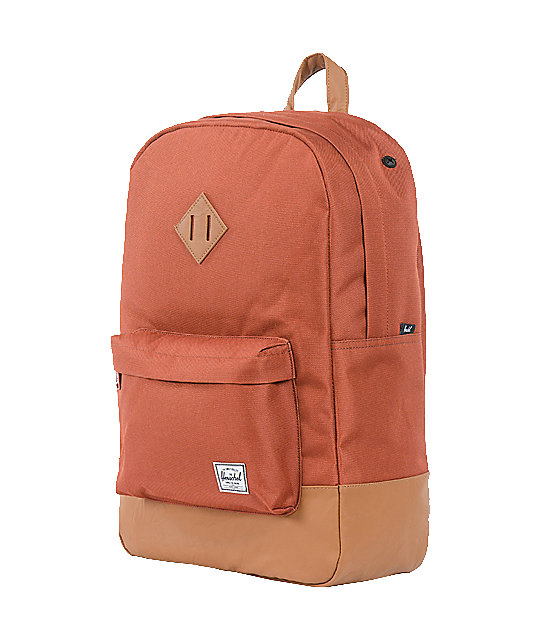 Herschel Supply Co. Heritage Rust Red Backpack