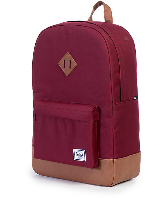 Herschel Supply Co. Heritage Windsor Wine 21.5L Backpack